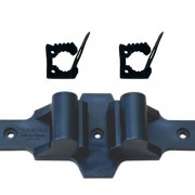 QUICK FIST Roll bar Mount and two QUICK FIST clamps