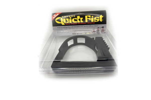 Square Quick Fist Clamp single pack blister -