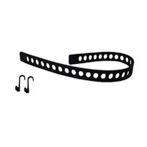 Quick Fist Rubber Tie Down Belt Hooks – 1 Belt & 2 Hooks