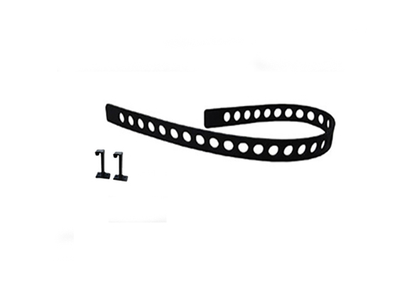 Quick Fist Rubber Tie Down Belt Posts – 1 Belt & 2 Mounting Posts